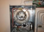 Interno della caldaia a condensazione